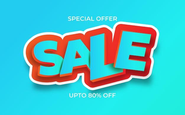 Verkauf banner vorlage vektor illustrationen