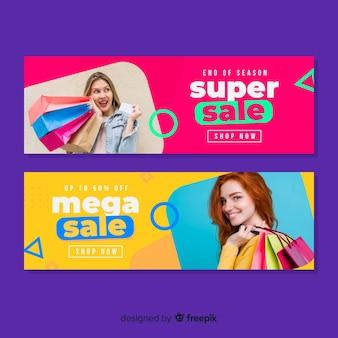 Verkauf banner