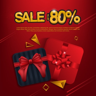 Verkauf bis zu 80% hintergrund. geschenkbox verkauf.