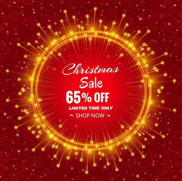 Verkauf der frohen weihnachten mit schönem design der karte