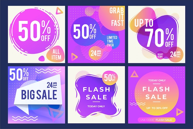 Verkauf designs vorlage