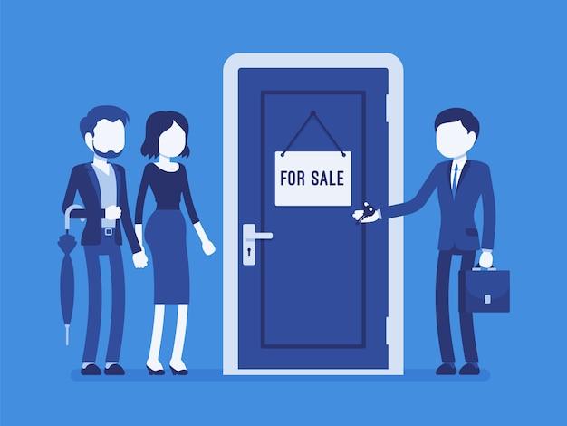 Verkauf einer neuen wohnung