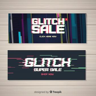 Verkauf glitch banner