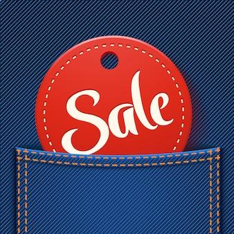 Verkauf in der tasche