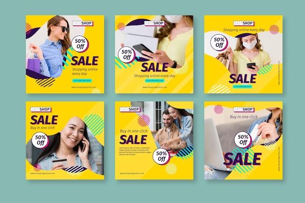 Verkauf instagram beiträge mit foto