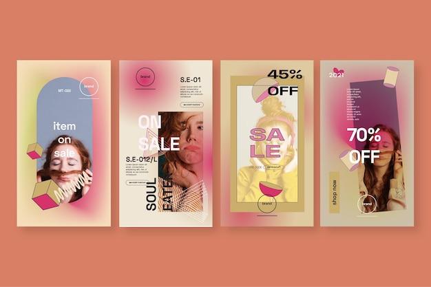 Verkauf instagram geschichte