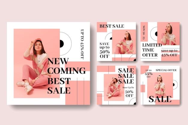 Verkauf instagram geschichten sammlung