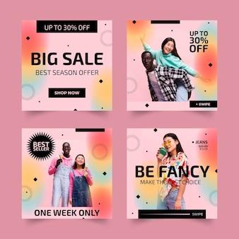 Verkauf instagram post sammlung