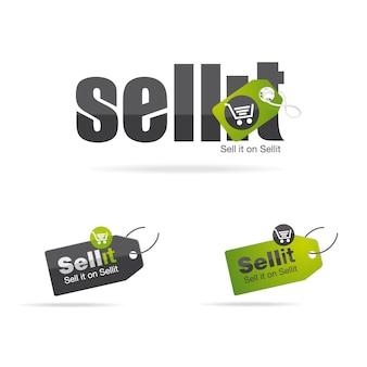 Verkaufen sie es logo