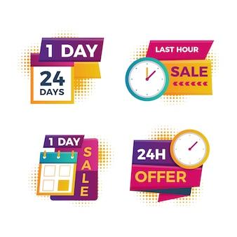 Verkaufs-countdown-banner-auflistung