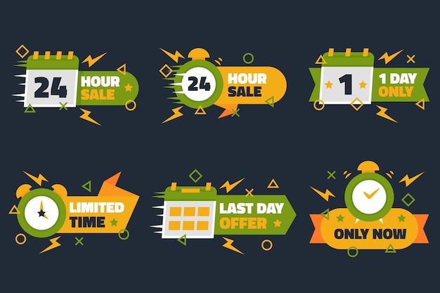 Verkaufs-countdown-banner gesetzt