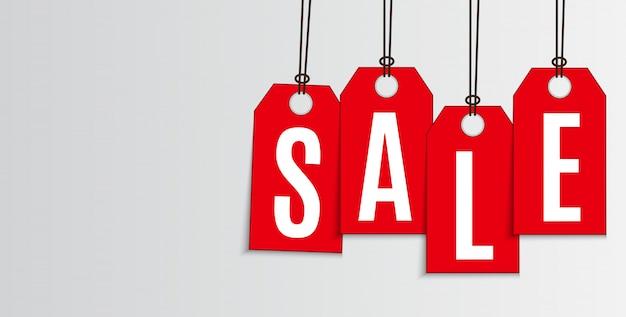 Verkaufs-und rabatt-promo-banner