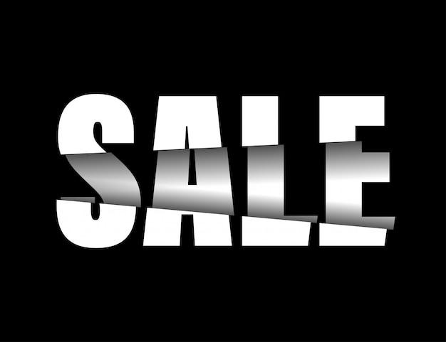 Verkaufsfahnenauslegung, sonderangebot des großen verkaufs.