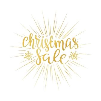 Verkaufshintergrund der frohen weihnachten perfektes dekorationselement für karten, einladungen und o
