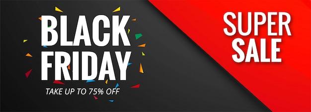 Verkaufsplakat der schwarzen freitag-fahnenschablone