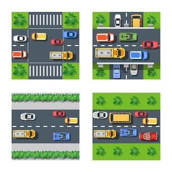 Verkehrstransport eingestellt