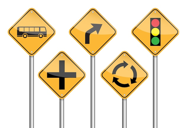 Verkehrszeichen pole