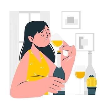 Verkostungskonzept illustration