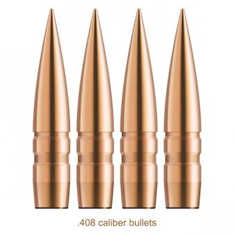 Verkupferte kugeln mit glanzeffekt.
