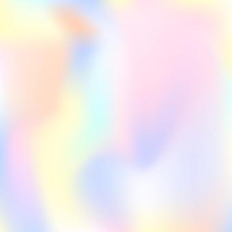 Verlaufsgitter abstrakten hintergrund. stilvolle holografische kulisse mit verlaufsgitter. 90er, 80er retro-stil. schillernde grafikvorlage für banner, flyer, cover-design, mobile schnittstelle, web-app.