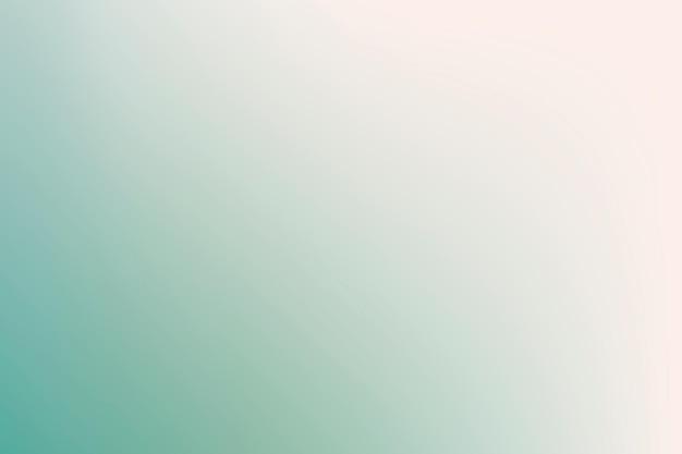 Verlaufshintergrundvektor im frühlingsgrün