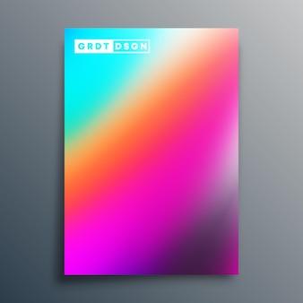 Verlaufstextur-design für flyer, poster, broschürencover, hintergrund, tapeten, typografie oder andere druckprodukte. vektor-illustration.