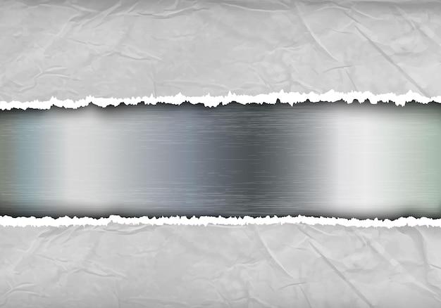 Vernieteter stahlnieten und schraubenmetallhintergrund