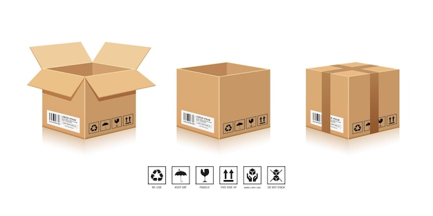 Verpackung brown box