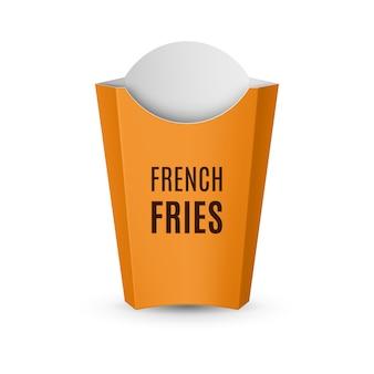 Verpackung für pommes frites