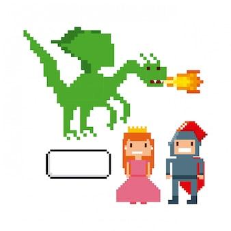 Verpixelte videospielikonen
