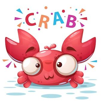 Verrückte krabbe
