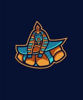 Verrückter pharao e sport logo