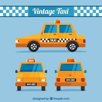 Verschiedene ansichten des taxis