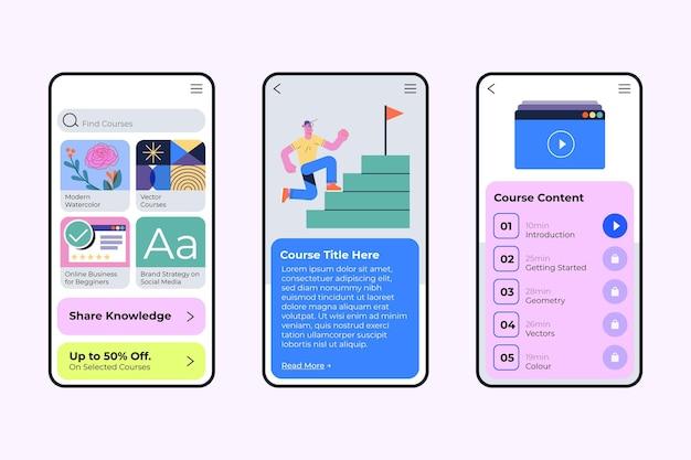 Verschiedene app-konzepte