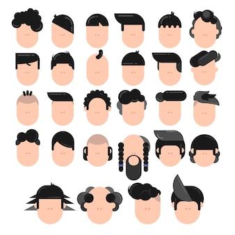 Verschiedene arten von herren frisuren