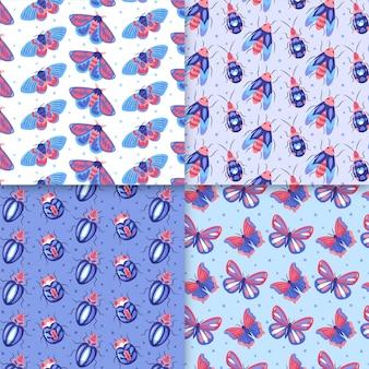 Verschiedene bugs pattern pack