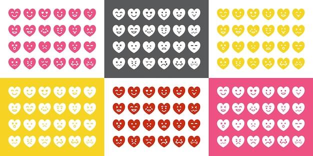 Verschiedene emoji-sets