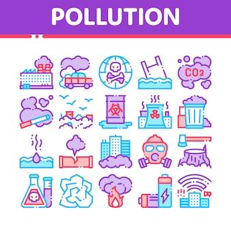 Verschmutzung der natur