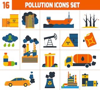Verschmutzungsikonen eingestellt