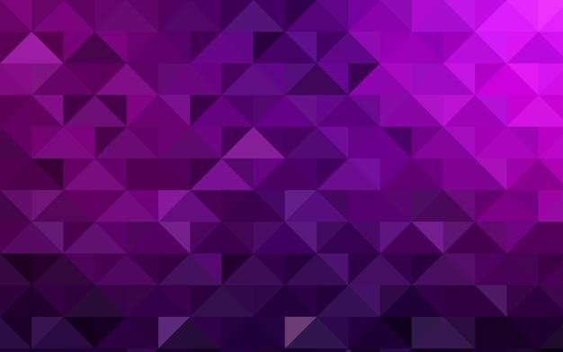 Verschwommene dreieckschablone des dunklen rosa vektors
