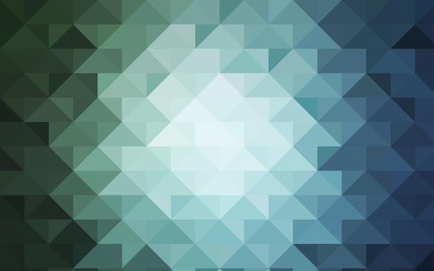 Verschwommene dreieckschablone des grünen vektors