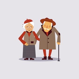 Versicherung für gealterte illustration