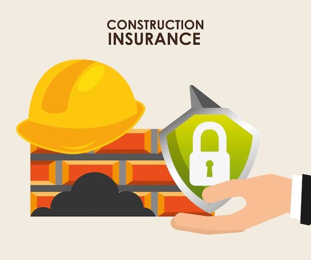 Versicherungs-ikonendesign