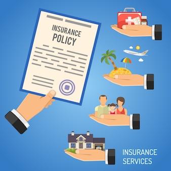 Versicherungsdienstleistungen