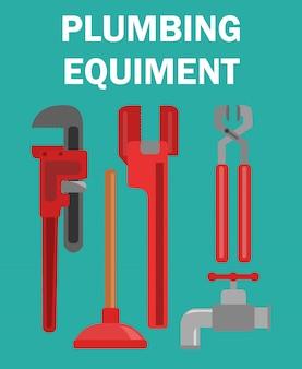 Verstellbare schraubenschlüssel cutter illustration