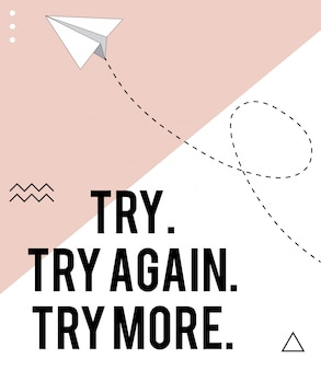 Versuch es noch einmal