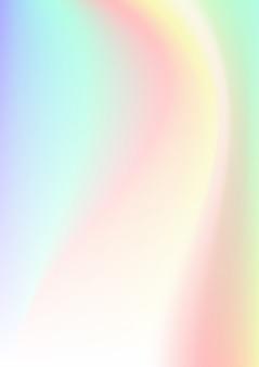 Vertikaler abstrakter hintergrund mit holographischem effekt.