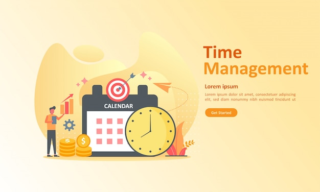 Verwaltung des arbeitszeitplans