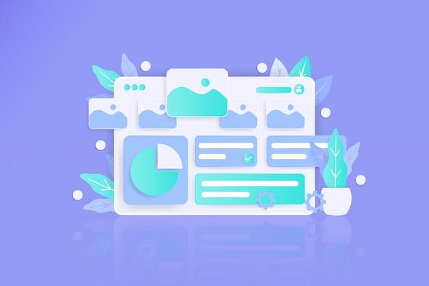 Verwaltung von social media- und analysetools für die entwicklung mobiler apps