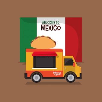 Verwandtes ikonenbild der mexikanischen kultur
